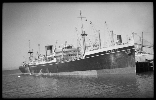 Karamea, ship.