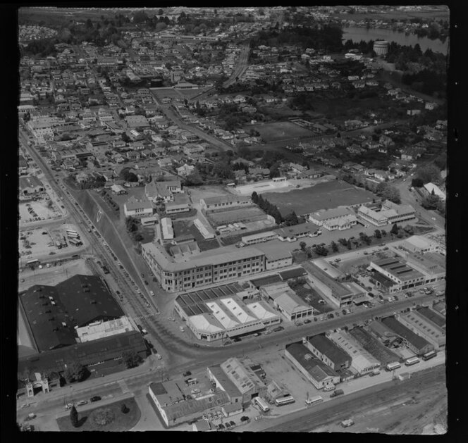 Hamilton, including industrial area, possibly with Hamilton Hardware Ltd