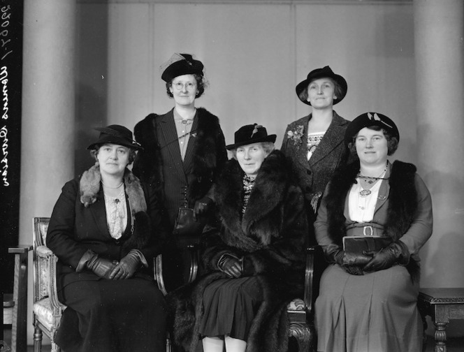 Women's division of the New Zealand Farmers Union