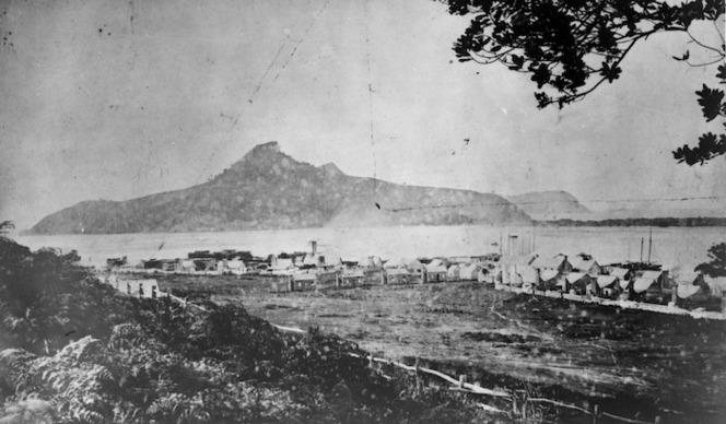 Settlement of Tairua and surrounding area
