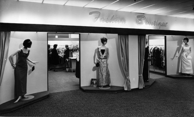 Fashion Boutique, James Smith Ltd, Wellington, early 1960s