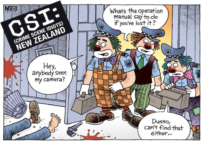 CSI (Crime Scene Idiots) New Zealand     | Items | National