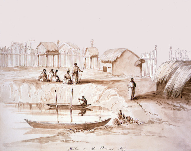 [Merrett, Joseph Jenner] 1815-1854 :Opita on the Thames. 29 March 1848.