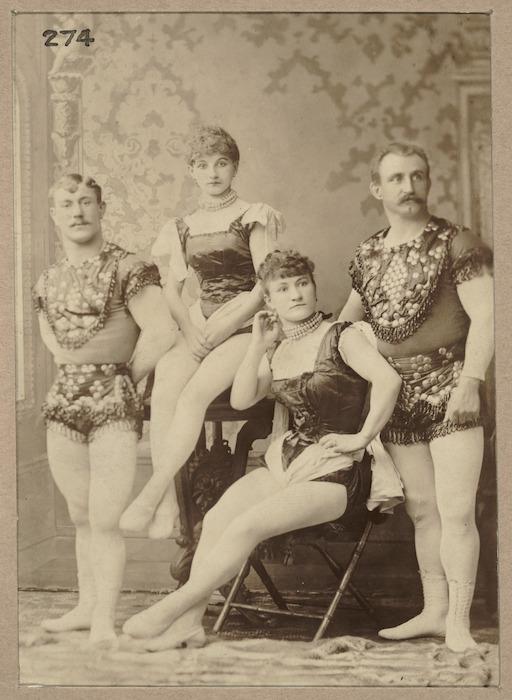 Ida, Kate, Walter, and Cornelius Silbon