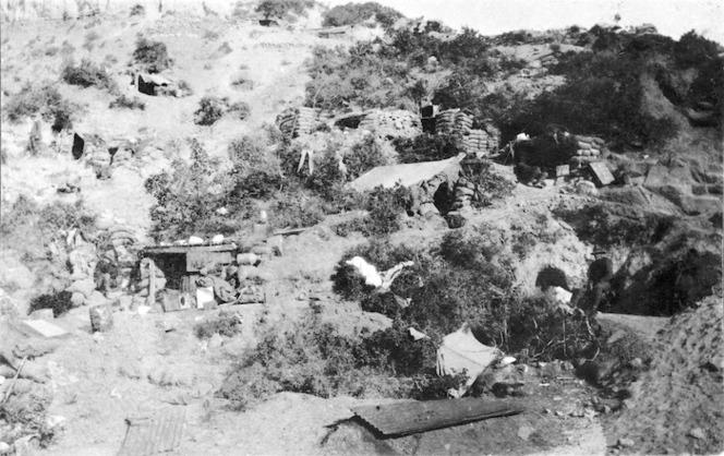 5th Squadron's bivouac area, Gallipoli, Turkey
