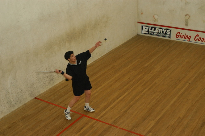 Photographs relating to squash, West Coast Region