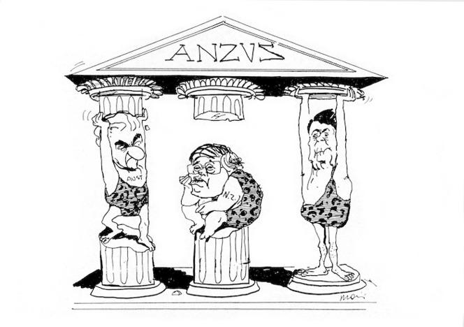 Moir, Alan, 1947- :ANZUS. Sydney Morning Herald, 1986.
