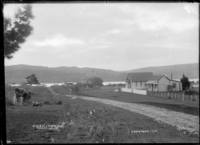 James Street, Raglan - Photograph taken by Gilmour Brothers