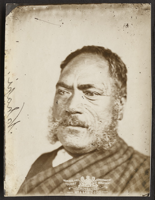 NZ Government Tourist Department (Wellington) :Portrait of Hori Ngakapa
