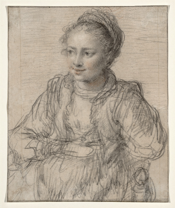 [Rubens, Peter Paul] 1577-1640. Attributed works :[Seated girl. ca 1600]