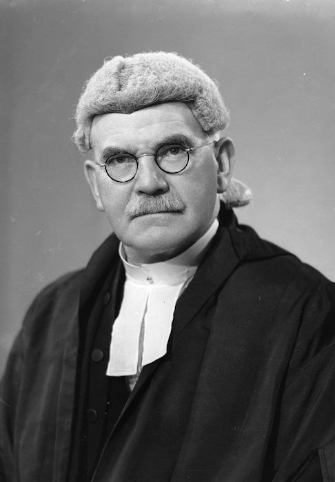 Patrick Joseph O'Regan in legal costume