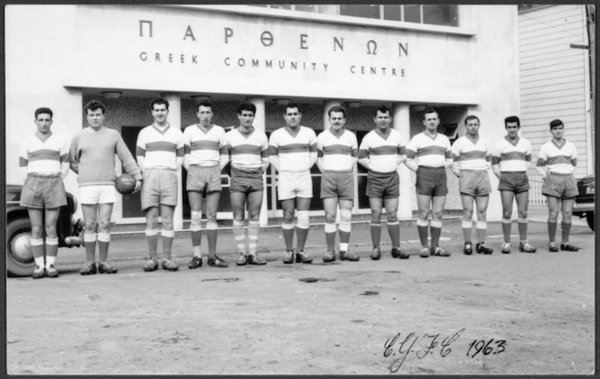 Players of the Olympic Football Club, Wellington