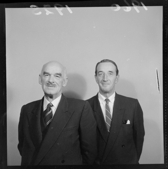 Mr J H Russell and Mr C H Wingfield