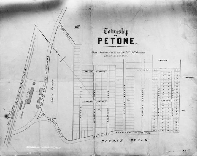 Township of Petone [map]