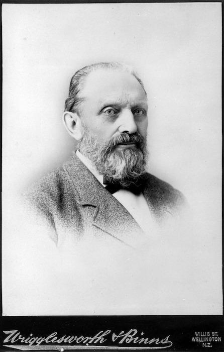 John Blackett - Photograph taken by Wrigglesworth and Binns