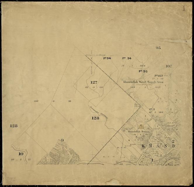 [Wellington city cadastral map] [cartographic material].