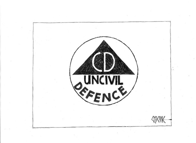 Uncivil defence. 29 January 2010