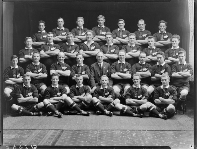 New Zealand rugby touring team (All Blacks)