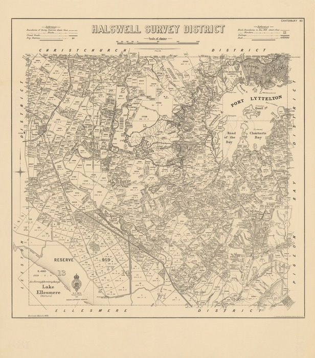 Halswell Survey District [electronic resource].