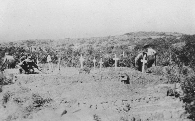 A cemetery at ANZAC, Gallipoli, Turkey