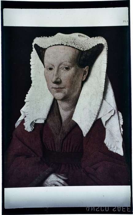 Portrait of a woman, painted during the Late Middle Ages, by an unidentified artist