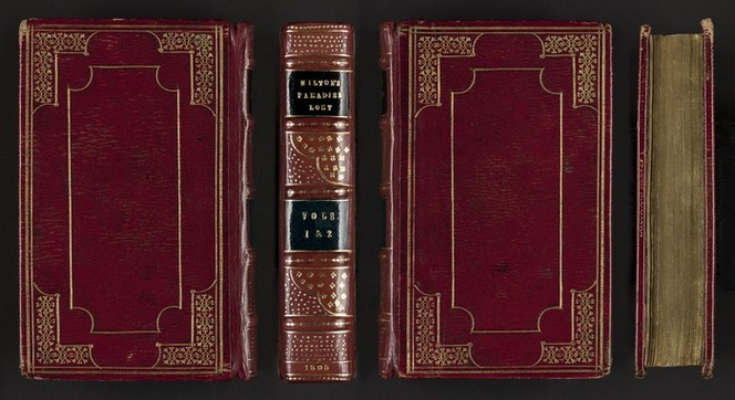 Paradise lost : a poem, in twelve books / the author, John Milton ; collated with the best editions by Thomas Park, Esq. F.S.A.