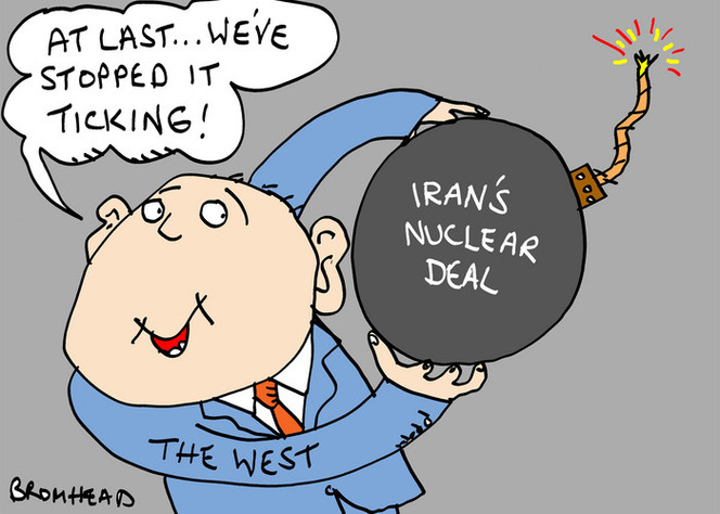 Bromhead, Peter, 1933-:Iran's nuclear deal. 26 November 2013