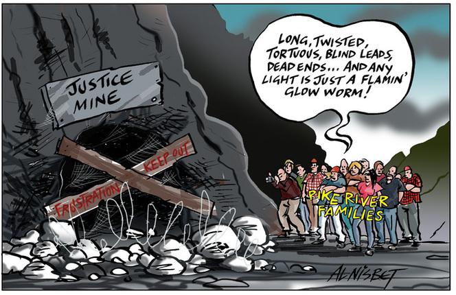 Nisbet, Alastair, 1958- :Justice mine. 3 December 2013