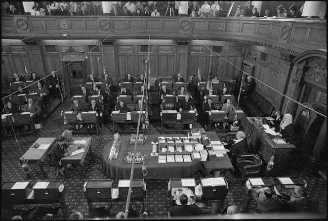Inside the House of Representatives, Parliament Buildings, Wellington