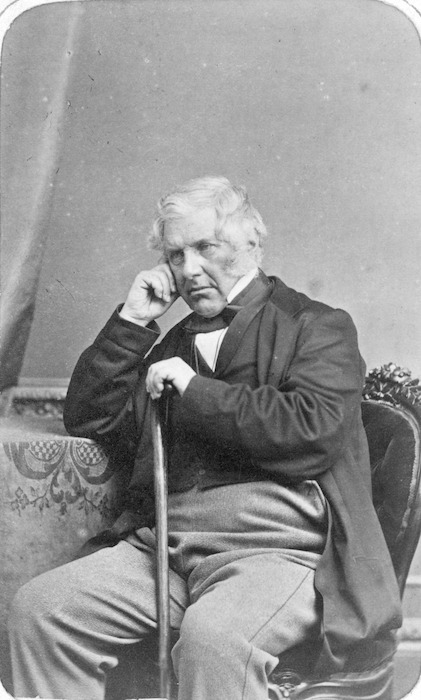 Swan & Wrigglesworth (Photographers) : Seated portrait of Henry Sewell