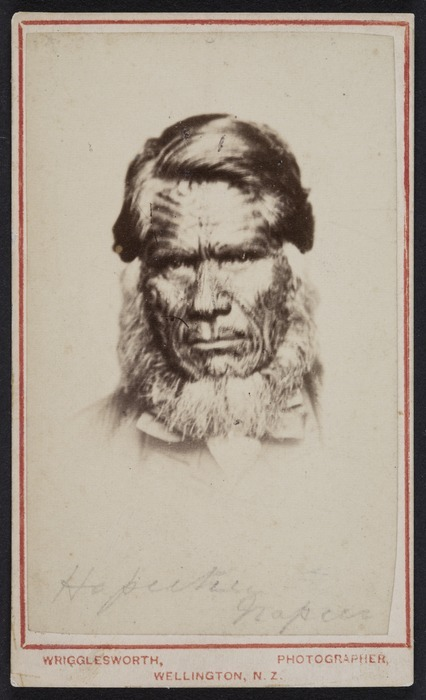 Wrigglesworth, James Dacie, 1836-1906 : Photograph of Te Hapuku