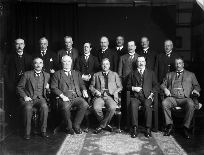 Members of the National Ministry of New Zealand