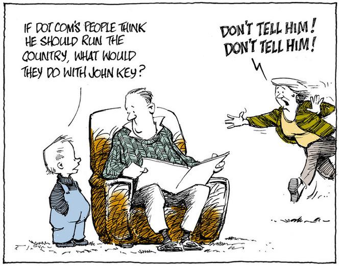 Tremain, Garrick, 1941- :Don't tell. 9 August 2014