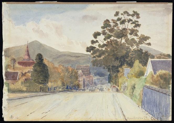 Fletcher, Frances Ann, 1846-1935 :Manchester Street, ChCh. 4/[19]06