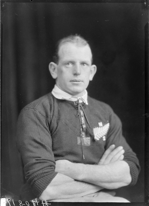 Quentin Donald, All Black rugby player 1924