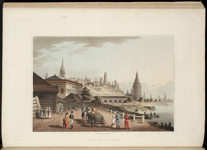 An illustrated record of important events in the annals of Europe, during the years 1812, 1813, 1814, & 1815 : comprising a series of views of Paris, Moscow, the Kremlin, etc. Together with a history of those momentous transactions.