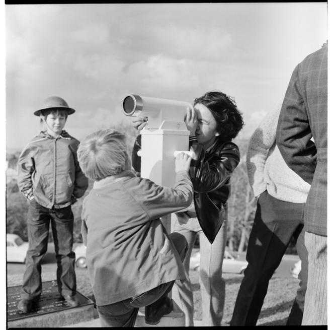 Telescope at the Auckland War Memorial Museum