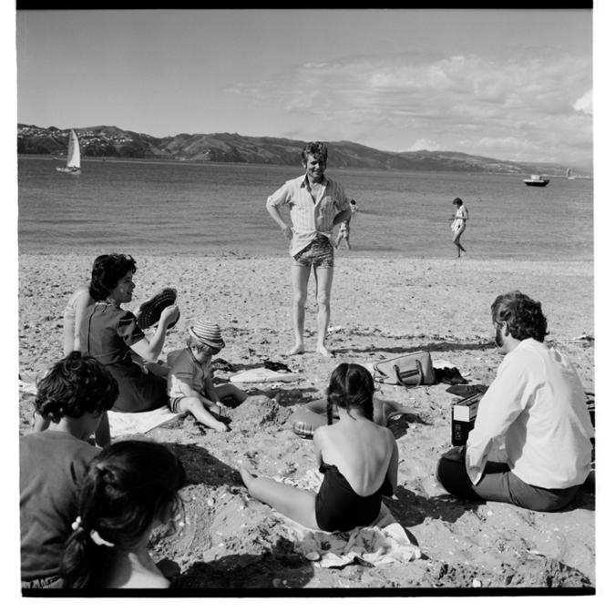 Oriental Bay, 1974.