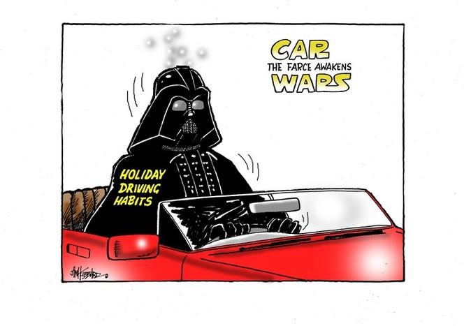 Holiday driving habits