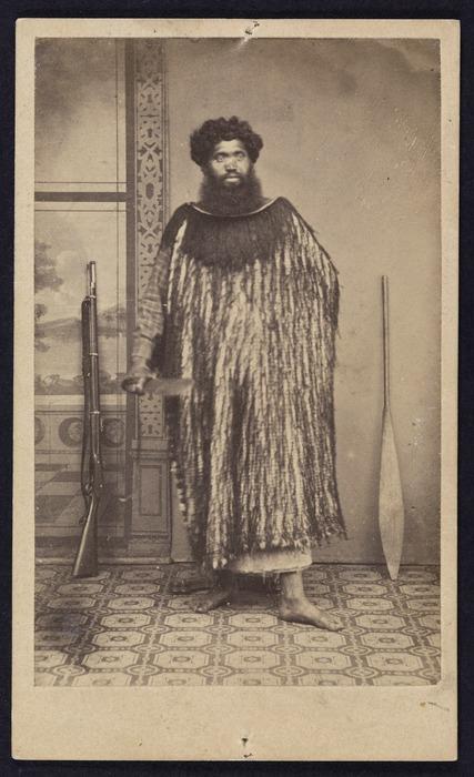 Photographer unknown: Portrait of Tautahi