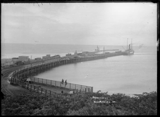 Breakwater, New Plymouth