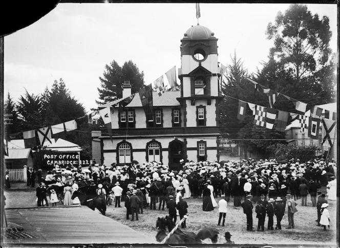 Post Office at Cambridge, 1908