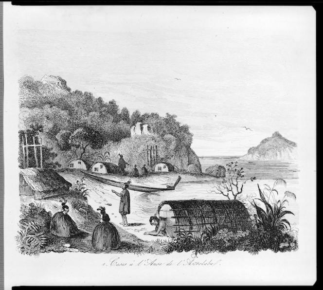 [Sainson, Louis Auguste de], b. 1800 :Cases a l'Anse de l'Astrolabe. [Paris, 1839]