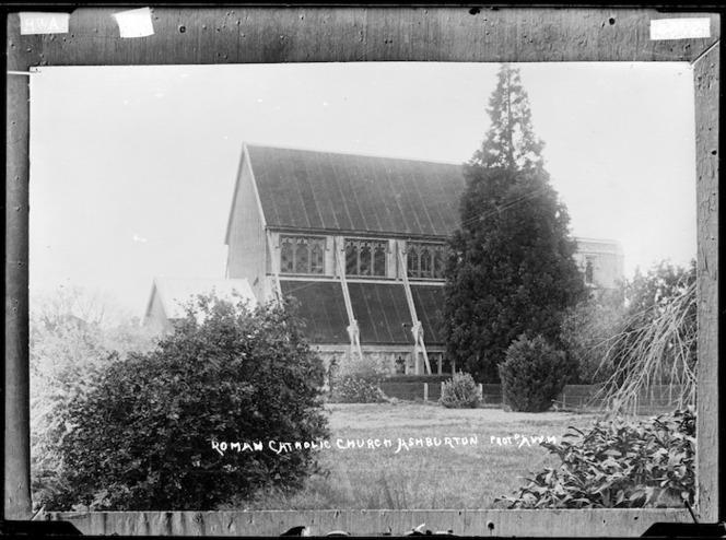 The Roman Catholic church, Ashburton - Photograph taken by A.W.H.