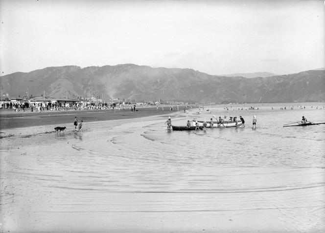 View of Petone Beach
