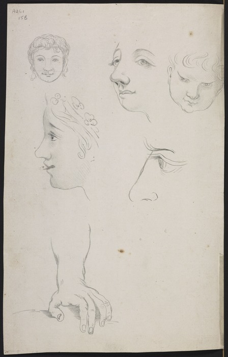 Ellis, William Wade, d 1785 :[Sketches of people. Between 1775 and 1779]