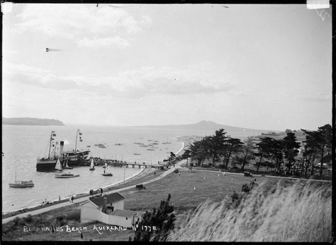 The ferry at Bucklands Beach, Auckland