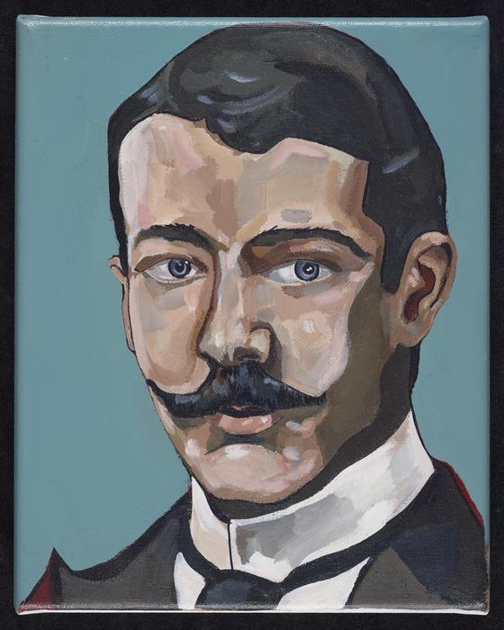 Mitchell, Sam, 1971-: Portrait of Alexander Horsburgh Turnbull