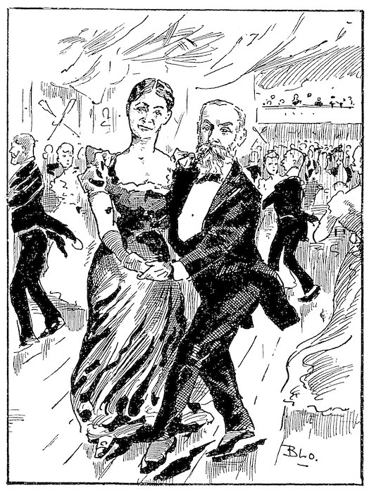 Blomfield, William, 1866-1938 :Mayors as Partners in the Mazy Waltz. New Zealand Observer and Free Lance, 19 May 1894.