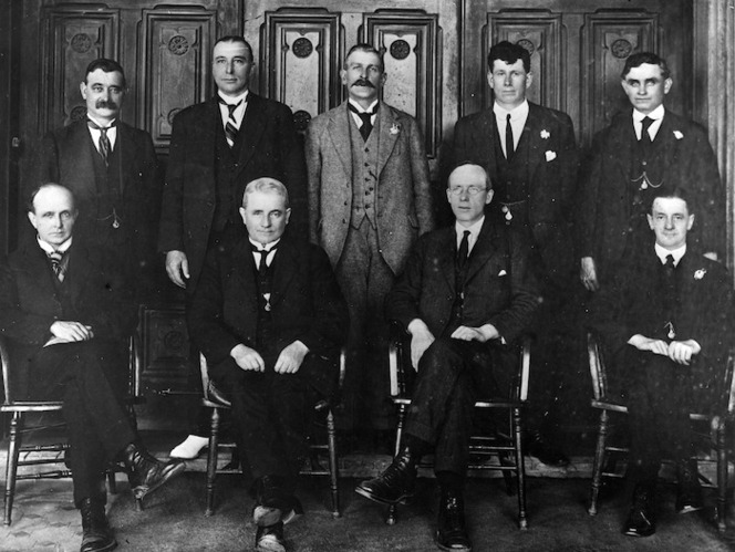 Members of the New Zealand Parliamentary Labour Party